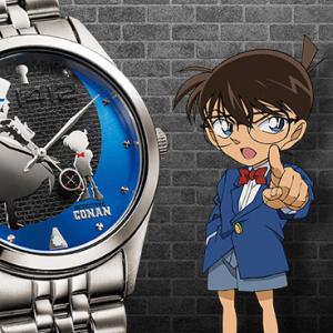 コナンと怪盗キッドが相対する腕時計『追跡者(チェイサー)』モデル登場 暗闇でキッドの国際犯罪者番号「1412」が浮かび上がる!