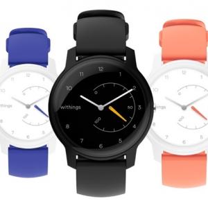 税込み1万円ちょいと低価格なアナログ腕時計型活動量計『Withings Move』が予約受付を開始