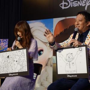 中川翔子の愛爆裂トークにサバンナ高橋「しょこたんの後に草1本も生えてない」 ディズニーデラックス配信記念パーリー開催!