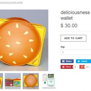 子供にねだられそうなチーズバーガーの財布