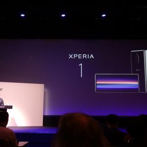 21:9シネマワイドディスプレイと3眼カメラを搭載したソニーモバイルのフラッグシップ『Xperia 1』がお披露目 国内発売は初夏を予定