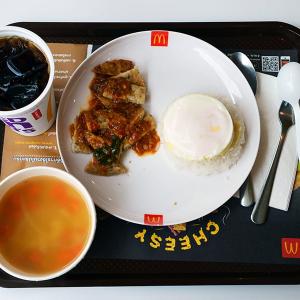 マクドナルドでライス+おかず+スープの定食メニューを食べてきた:衝撃のメニュー『ガパオライス』セット