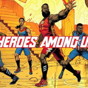 『Heroes Among Us』はアディダス×マーベル×NBA/WNBAプレイヤーとコラボした限定スニーカーコレクション