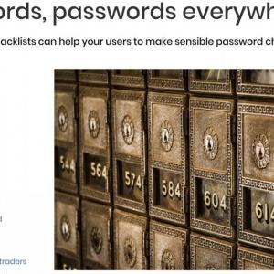イギリスのサイバーセキュリティセンターが危険なパスワードを公表