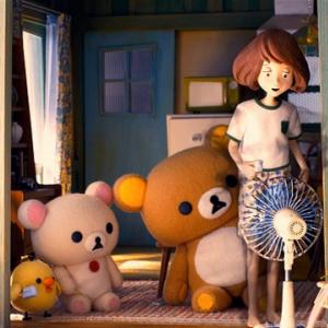 「攻めてる」「アートっぽい」 『Netflix』のアニメ『リラックマとカオルさん』広告が皮肉すぎる