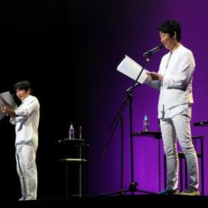 NON STYLE石田明と声優・石田彰が共演 Wイシダ朗読劇『USHIROMUKI』