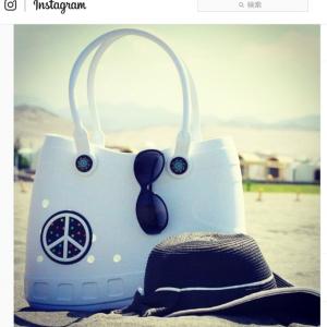 このトートバッグ 何かに似ているんだよね