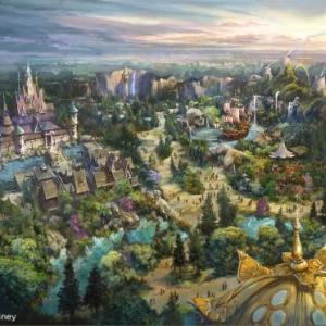 """『東京ディズニーシー』新テーマポート名称が「ファンタジースプリングス」に決定! """"魔法の泉が導くディズニーファンタジーの世界""""がテーマ"""