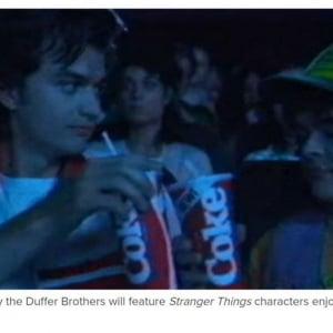 『ストレンジャー・シングス 未知の世界 3』とタイアップして『New Coke』が復活