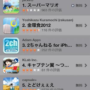 【アプリ】AppStoreに『スーパーマリオ』が登場し1位に! 中身は驚きの超クソゲーで例の如くアップルの審査を通過