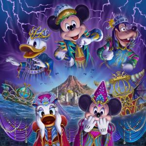 """『ディズニー・ハロウィーン2019』""""ダークで妖しい""""シーに新たなゴーストダンサーも!"""
