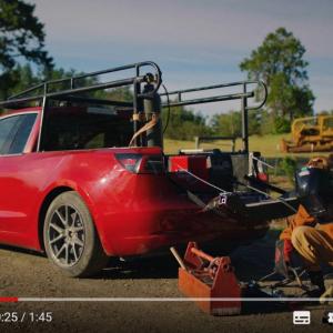 テスラ・モデル3をピックアップトラックに改造してみたら『トラックラ(TRUCKLA)』が完成した