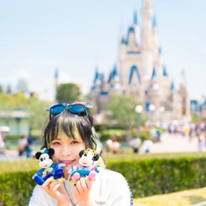 「ディズニー七夕デイズ」でいつもよりロマンティックなパークを満喫! モデル:ヤママチミキ (GANG PARADE)