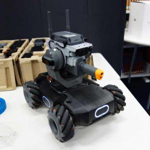 教材と呼ぶにはホビー感が圧倒的なDJIの地上走行ロボット『RoboMaster S1』 その楽しさを体験してきた