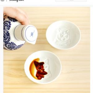 醤油を入れると絵柄が浮かび上がる『フォトリアル醤油皿』 これ使いたいから毎日刺身とか食べちゃいそう