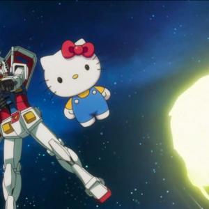 キティ「争いはやめよう?」アムロ「戦う気がないなら下がってください!」『ガンダムvsハローキティ』第2話公開