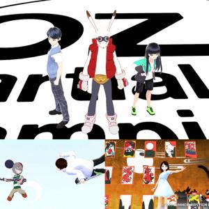 「サマーウォーズ」劇中シーンを自分のアバターで再現できる撮影スポットも!「OZ on VRoid」ついにリリース
