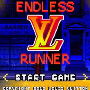 ルイ・ヴィトンがゲームを作るとこうなる 「LOUIS VUITTON ENDLESS RUNNER」