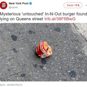 """謎すぎる ニューヨークに店舗がない""""In-N-Out Burger""""のハンバーガーがなぜニューヨークの路上に!?"""