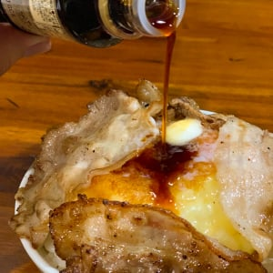 小腹が空いたら「チーズバター肉丼」 冷蔵庫の余り物グルメに感動
