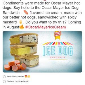 アイスクリームとホットドッグとサンドウィッチが合体した「アイス ドッグ サンドウィッチ(Ice Dog Sandwich)」誕生