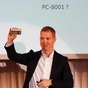 発売から40周年を迎えたPC-8001が手のひらサイズでよみがえる 「PasocomMini PC-8001」はLAVIE Pro Mobile限定パッケージか店頭キャンペーンで入手可能