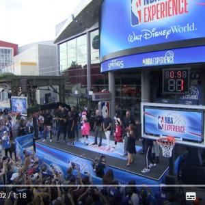 ウォルト・ディズニー・ワールド・リゾートに「NBA Experience」がオープン