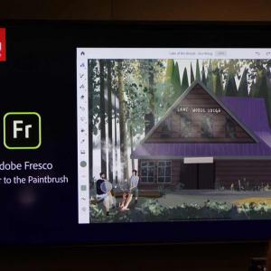 アドビがプロのイラストレーターに向けたiPad用ドロー&ペイントアプリ「Adobe Fresco」をお披露目 Photoshopのブラシにベクターのブラシも組み合わせ可能に