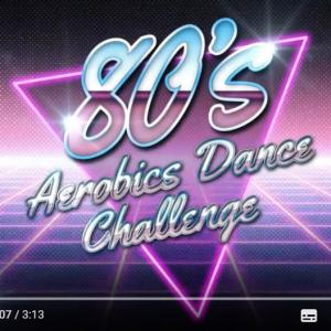 80年代に大流行したエアロビクスを踊ってみた 笑っちゃうくらいムズイよ