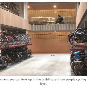 自転車大国オランダに世界最大の駐輪場がフルオープン 1万2500台の自転車を収容可能