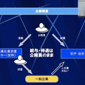 政策オーディション:政策提言発表(1)「公務員社員化計画」橘川幸夫氏