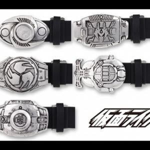 ライダーベルトが大人も普段使いできる紳士用ベルトに!平成仮面ライダー「クウガ」から「ディケイド」まで10種から選べる