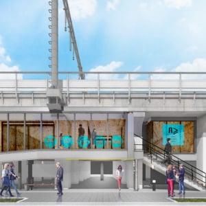 秋葉原~御徒町間の高架下「AKI-OKA」エリアに新たなホテルが2019年11月オープン!  大人数部屋を多数用意しファミリー層にも対応