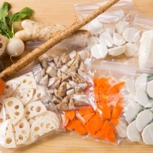 [野菜の保存]里芋やごぼうなど、根菜の便利な冷凍保存法まとめ