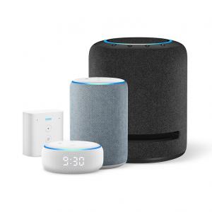 Amazonがスマートスピーカー「Amazon Echo」4モデルを発表 「Echo」「Echo Dot」新モデルにDolby Atmos対応のハイエンドモデルやコンセントに差して使えるモデルも追加