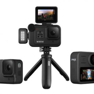 GoProが360°カメラに切り替え可能な「Max」とモジュールで機能を拡張できる「HERO 8 Black」を10月25日発売へ