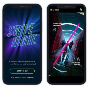 マッチングアプリ「Tinder」が仕掛ける実写映像アドベンチャーゲーム「Swipe Night」