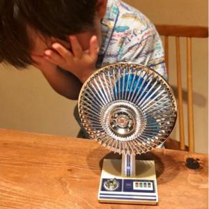 """大好きな""""旧式扇風機""""にうれし泣き!? 3歳の男の子のかわいすぎる反応がTwitterで話題に"""
