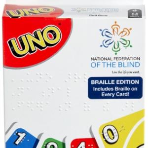 マテルがUNOの点字版「UNO Braille」を発表
