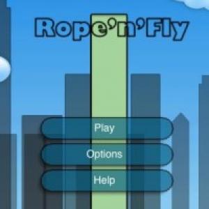 【日曜版】ビルの谷間を駆け抜けろ!『Rope'n'Fly』【iPhone】