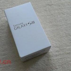Samsung Galaxy S III GT-I9300開封の儀