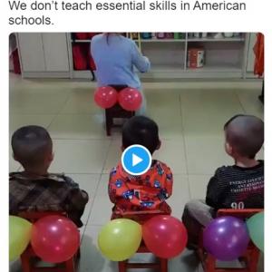 子どもたちにお尻の拭き方を教える動画ツイートが話題 「お尻の拭き方を教わらないといけない大人も多いわよね」