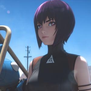 「攻殻機動隊」初フル3DCGアニメ2020年春配信決定! 草薙素子のセリフ入りティザーPV解禁