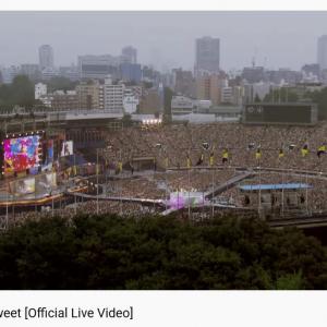 嵐YouTubeに初国立ライブの「Love so sweet」映像公開 直後放送「VS嵐」とのシンクロにファン歓喜