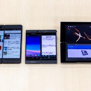 """GalaxyFold発売! ここで過去の""""変態端末""""3機種を振り返りましょう"""