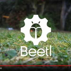 犬のうんち拾い専用ロボット「Beetl」