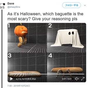 ハロウィンということで この中で一番怖いバゲットはどれ?