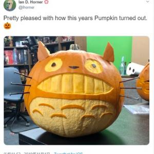 なんとも創造性豊かなハロウィンのかぼちゃ 日本のアニメからホラー映画のキャラまで