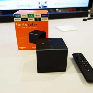 リモコンに加えて音声だけの操作にも対応したメディアストリーミング端末「Fire TV Cube」が出荷開始