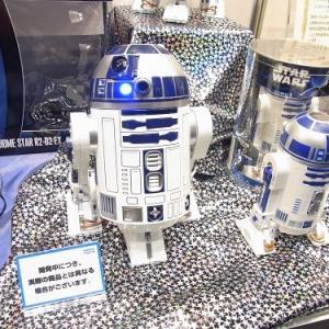 【東京おもちゃショー2012】自宅に星空『ホームスター』のR2-D2バージョンが大幅にパワーアップ